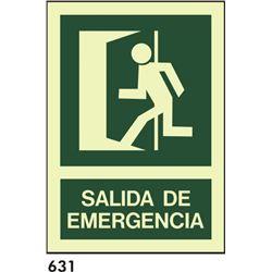 Señal 210x297 pvc 087 404 salida de emergencia