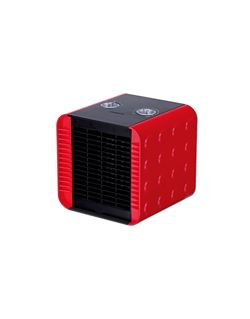 Calefactor compacto rojo