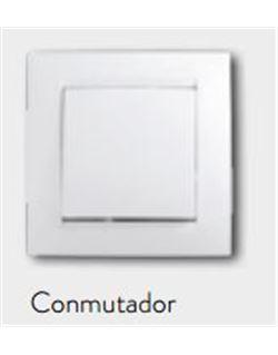 Simon 15 conmutador blanco
