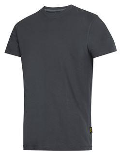 Camiseta clasica gris ceniza s