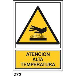 Señal 210x297 pvc 349 924 alta temperatura