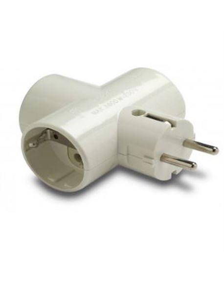 Bl. adaptador triple tt ceram. 16a-250v - FAMABAD13031