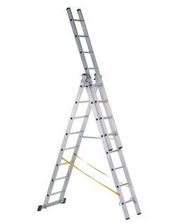 Escalera triple 49794 14 peld.