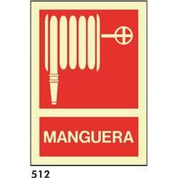 Señal 210x297 pvc 013 508 manguera