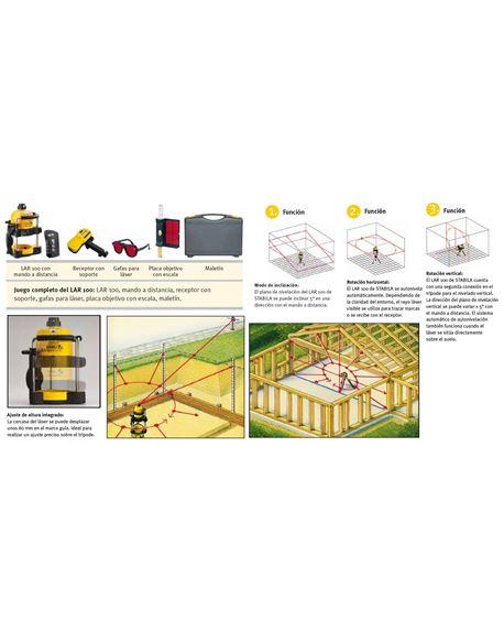 "Roto-laser c/trip.+barra lar100 """"oferta"""" - LAR-100"