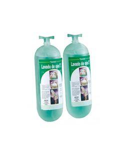 Botellas lava ojos 2 und. (1 lt.c/u.)