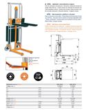 Apilador semi-electrico 540x1150 2450 kg. - GAYNER2