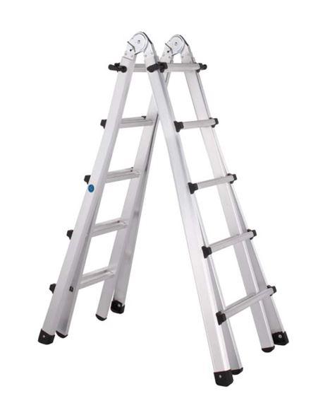 Escalera telescopica ref. 42394 4 peld. - TELESCOPICA