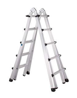 Escalera telescopica ref. 42395 5 peld.