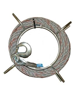 Cable p/tractel ref. t-07 10 m.