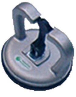 Ventosa aluminio sencilla para cristal mod.a