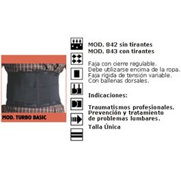 Faja basic mod. 842 - MOD.-842-843-TURBO-BASIC