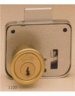 Cerradura sobrep. c.elect. cfe 1100