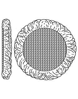 Bonete lana 125 mm. fijación rapidaa