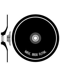 Disco flexible 150 mm.