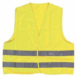 Chaleco amarillo fluoresc. c/reflectante