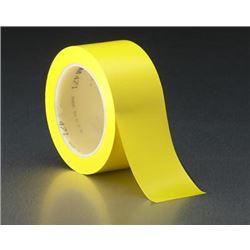 Cinta señaliz. suelo amarilla 6055 33x50