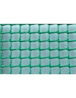Mts. tela plastico malla cuadrada c-105