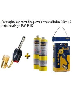 Kit soplete k727+2 botellas map-pro