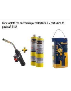 Kit soplete k747+2 botellas map-pro